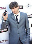 Ashton Kutcher filming himself on the red carpet at the L.A. Premiere of The Joneses held at The Arclight Theatre in Hollywood, California on April 08,2010                                                                   Copyright 2010  DVS / RockinExposures