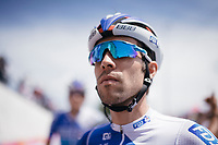 Thibaut Pinot (FRA/FDJ) at the stage start in the tiny birth town of Fausto Coppi: Castellania<br /> <br /> 100th Giro d'Italia 2017<br /> Stage 14: Castellania › Oropa (131km)