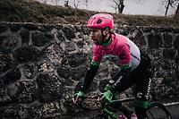 Mitchell Docker (UAS/Education First-Drapac)<br /> <br /> 76th Paris-Nice 2018<br /> Stage 7: Nice > Valdeblore La Colmiane (175km)