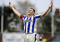 24/10/2009  Copyright  Pic : James Stewart.sct_jspa16_kilmarnock_st_johnstone  . :: KEVIN KYLE CELEBRATES AFTER HE SCORES THE SECOND :: .James Stewart Photography 19 Carronlea Drive, Falkirk. FK2 8DN      Vat Reg No. 607 6932 25.Telephone      : +44 (0)1324 570291 .Mobile              : +44 (0)7721 416997.E-mail  :  jim@jspa.co.uk.If you require further information then contact Jim Stewart on any of the numbers above.........