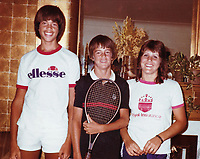 """02 June 2021 - Talented junior tennis player Matthew Perry [middle] before his role as Chandler Bing on """"Friends"""" one of the most beloved shows in television history.  File Photo: Personal Photo 1985, Hamilton, Ontario, Canada. Photo Credit: Brent Perniac/AdMedia"""