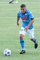 Diego Demme of SSC Napoli during the friendly football match between SSC Napoli and Castel di Sangro Cep 1953 at stadio Patini in Castel di Sangro, Italy, August 28, 2020. <br /> Photo Cesare Purini / Insidefoto