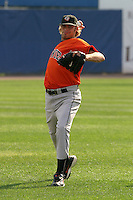 August 18, 2005:  Pitcher Hayden Penn of the Bowie BaySox during a game at Metro Bank Park in Harrisburg, PA.  Bowie is the Eastern League Double-A affiliate of the Baltimore Orioles.  Photo by:  Mike Janes/Four Seam Images