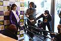 Saori Yoshida CEO-for-a-day at McDonald's