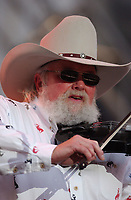 06 July 2020 - Country music and southern rock legend Charlie Daniels has passed away after suffering a stroke. The Grand Ole Opry member and Country Music Hall of Famer was 83. File Photo: June 10, 2004; Nashville, TN, USA; Singer CHARLIE DANIELS during the 2004  CMA Music Festival held at Adelphia Titans Stadium. Mandatory Credit: Photo by Laura Farr/AdMedia