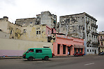 Old Havana Building In Disrepair