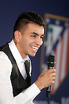 Atletico de Madrid's new player Angel Correa during his official presentation. July 10, 2015. (ALTERPHOTOS/Acero)