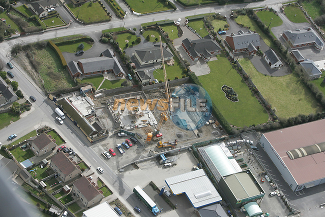 Aerial view of The Thatch Pub on the Donore rd under construction. 12/04/05...Photo NEWSFILE/Fran Caffrey.(Photo credit should read Fran Caffrey/NEWSFILE)....This Picture has been sent you under the condtions enclosed by:.Newsfile Ltd..The Studio,.Millmount Abbey,.Drogheda,.Co Meath..Ireland..Tel: +353(0)41-9871240.Fax: +353(0)41-9871260.GSM: +353(0)86-2500958.email: pictures@newsfile.ie.www.newsfile.ie.FTP: 193.120.102.198...This picture is from Fran Caffrey@newsfile.ie