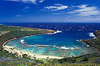 Hanauma bay marine life sanctuary, Oahu