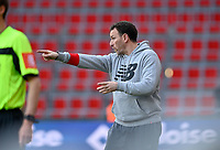 Head coach Hamide Lamara of Standard pictured during a female soccer game between Standard Femina de Liege and RSC Anderlecht on the 8th matchday in play off 1 of the 2020 - 2021 season of Belgian Scooore Womens Super League , tuesday 18 th of May 2021  in Angleur , Belgium . PHOTO SPORTPIX.BE | SPP | DAVID CATRY