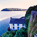 Dylan Thomas boat house  Laugharne Wales  CREDIT Geraint Lewis