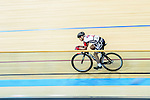 Ng Siu Yin of team SCAA during the Indiviual Pursuit Youth Final Track Cycling Race 2016-17 Series 3 at the Hong Kong Velodrome on February 4, 2017 in Hong Kong, China. Photo by Marcio Rodrigo Machado / Power Sport Images
