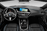 Stock photo of straight dashboard view of a 2020 BMW Z4 Base 2 Door Convertible