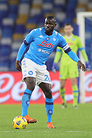 Kalidou Koulibaly of SSC Napoli during the Italy Cup football match between SSC Napoli and Empoli FC at stadio Diego Armando Maradona in Napoli (Italy), January 13, 2021. <br /> Photo Cesare Purini / Insidefoto