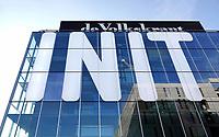 Nederland - Amsterdam -  November 2019.   Het INIT-gebouw is een bedrijfsverzamelgebouw op het Oostenburgereiland.   Foto Berlinda van Dam / Hollandse Hoogte