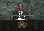 72 General Debate – 20 September <br /> <br /> His Excellency Teodoro Obiang Nguema Mbasogo, President of the Republic of Equatorial Guinea
