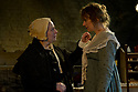 """© Jane Hobson.13/01/2011. Arcola Theatre reopens in its new venue with """"The Painter"""", by Rebecca Lenkiewicz. Amanda Boxer (left) as Mary Marshall Turner and Niamh Cusack (right) as Sarah Danby. Picture credit should read: Jane Hobson"""