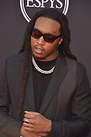 LOS ANGELES, USA. July 10, 2019: Takeoff at the 2019 ESPY Awards at the Microsoft Theatre LA Live.<br /> Picture: Paul Smith/Featureflash