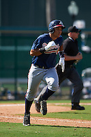 Atlanta Braves Carlos Castro (68) during an instructional league game against the Toronto Blue Jays on September 30, 2015 at the ESPN Wide World of Sports Complex in Orlando, Florida.  (Mike Janes/Four Seam Images)