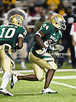 Baylor Bears running back Terrance Ganaway (24) in action during the game between the Iowa State Cyclones and the Baylor Bears at the Floyd Casey Stadium in Waco, Texas. Baylor defeats Iowa State 49 to 26.