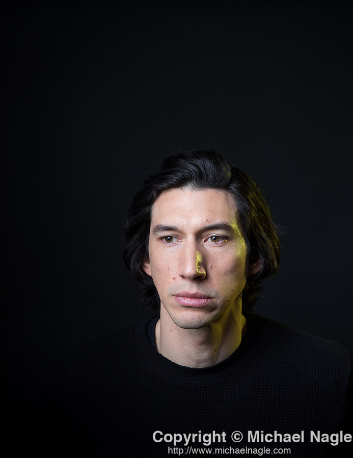 NEW YORK, NY — 12/2/19:  Actor Adam Driver poses for a portrait at the Greenwich Hotel on Monday, December 2, 2019 in New York City.  (PHOTOGRAPH BY MICHAEL NAGLE)
