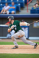 Daytona Tortugas catcher Garrett Boulware (10) at bat during a game against the Brevard County Manatees on August 14, 2016 at Space Coast Stadium in Viera, Florida.  Daytona defeated Brevard County 9-3.  (Mike Janes/Four Seam Images)