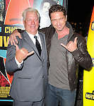 Gerard Butler and Frosty Hesson attends Twentieth Century Fox Special Screening of Chasing Mavericks held at The Pacific Grove Stadium 14 in Los Angeles, California on October 18,2012                                                                               © 2012 DVS / Hollywood Press Agency