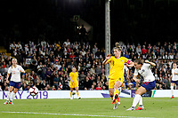 GOAL - Fran Kirby of England Women shoots and scores during the Women's international friendly match between England Women and Australia at Craven Cottage, London, England on 9 October 2018. Photo by Carlton Myrie / PRiME Media Images.