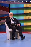 Francesco Cossiga .Roma 10/11/2007 Domenica In .Ultima apparizione in Tv.Foto GB / Insidefoto.