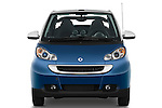 Straight front view of a 2009 SmartForTwo Cabriolet