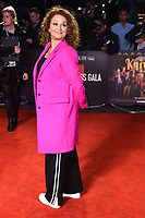 """LONDON, UK. October 08, 2019: Nadia Sawalha arriving for the """"Knives Out"""" screening as part of the London Film Festival 2019 at the Odeon Leicester Square, London.<br /> Picture: Steve Vas/Featureflash"""