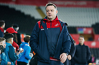 Swansea City goalkeeper coach Tony Roberts arrives at Liberty Stadium prior to kick off of the Premier League match between Swansea City and Liverpool at the Liberty Stadium, Swansea, Wales, UK. Monday 22 January 2018