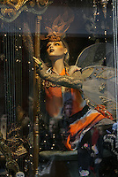 11/11/2010.One of the windows .at the official countdown to the unveiling of Brown Thomas's Christmas windows on Grafton street, Dublin..Photo: Gareth Chaney Collins