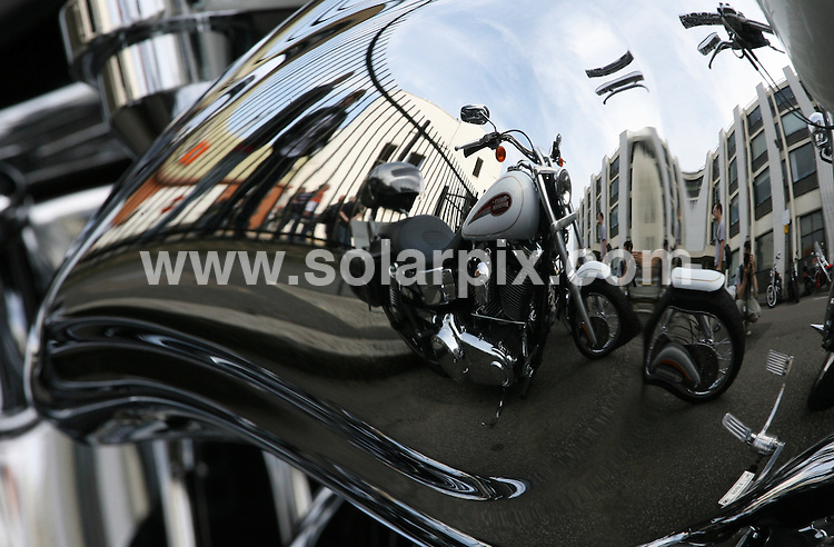 **ALL ROUND PICTURES FROM SOLARPIX.COM**.**WORLDWIDE SYNDICATION RIGHTS**.The Harley Davidson Charity Bike Ride at Warr's Harley Davidson Store in Kings Road, London, UK. 9 August 2009..This pic: Atmosphere..JOB REF: 9723 LNJ     DATE: 09_08_2009.**MUST CREDIT SOLARPIX.COM OR DOUBLE FEE WILL BE CHARGED**.**MUST NOTIFY SOLARPIX OF ONLINE USAGE**.**CALL US ON: +34 952 811 768 or LOW RATE FROM UK 0844 617 7637**