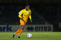 Jason Banton of Wycombe Wanderers in action during the Johnstone's Paint Trophy match between Bristol Rovers and Wycombe Wanderers at the Memorial Stadium, Bristol, England on 6 October 2015. Photo by Andy Rowland.