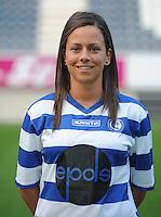 K AA Gent Ladies : Kay Cuvelier<br /> foto Dirk Vuylsteke / nikonpro.be