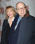 Elaine Joyce & Neil Simon.attending the Broadway Opening Night Performance of 'Bengal Tiger At The Baghdad Zoo' at the Richard Rodgers Theatre in New York City.