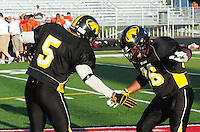 The Madison Mustangs top the Milwaukee Venon 62-12 in the first round of the 2010 Ironman Football League playoffs on Saturday, 8/14/10, at Breitenbach Stadium in Middleton, Wisconsin