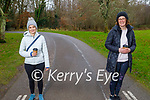 Having a coffee and stroll in the Killarney National park on Friday, l to r: Louise Nagle and Gretel O'Sullivan.