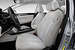 Front seat view of 2017 Hyundai Sonata-Hybrid Hybrid 4 Door Sedan Front Seat  car photos