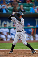 Ezequiel Tovar (31) of the Grand Junction Rockies at bat against the Ogden Raptors at Lindquist Field on September 9, 2019 in Ogden, Utah. The Raptors defeated the Rockies 6-5. (Stephen Smith/Four Seam Images)