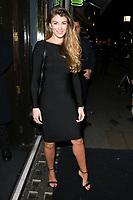Amy Willerton<br /> arriving for James Ingham's Jog on to Cancer 2018 at Cafe de Paris, London<br /> <br /> ©Ash Knotek  D3391  04/04/2018