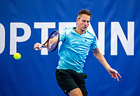 Amstelveen, Netherlands, 14  December, 2020, National Tennis Center, NTC, NK Indoor, National  Indoor Tennis Championships, Qualifying:  Jasper Smit (NED) <br /> Photo: Henk Koster/tennisimages.com