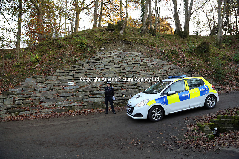 "Pictured: Police near the scene of a suspected house fire in Llangammarch Wells, mid Wales, UK<br /> Re: People are feared to have died in a serious house fire in Powys, Wales.<br /> Four fire crews were called to the property near Llangammarch Wells, between Llanwrtyd Wells and Builth Wells, just after midnight on Monday.<br /> Mid and West Wales Fire and Rescue Service said the blaze was ""well developed"" when firefighters arrived at the scene.<br /> It is not known how many people may have been inside the house at the time of the blaze.<br /> A Welsh Ambulance Service spokesman said it sent its Hazardous Area Response Team, as well as four crews in emergency ambulances and an ambulance officer to the scene."