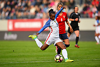 Sandefjord, Norway - June 11, 2017: Crystal Dunn in action during their game vs Norway in an international friendly at Komplett Arena.