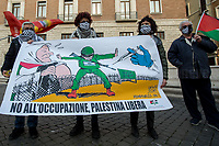 26.02.2021 - Vaccines For Palestine: Palestinian Community of Rome Demonstration