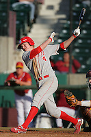 March 7 2010: Alex Allbritton of University of New Mexico during game against USC at Dedeaux Field in Los Angeles,CA.  Photo by Larry Goren/Four Seam Images