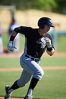 Chicago White Sox Max Dutto (10) during an Instructional League game against the Los Angeles Dodgers on October 15, 2016 at the Camelback Ranch Complex in Glendale, Arizona.  (Mike Janes/Four Seam Images)