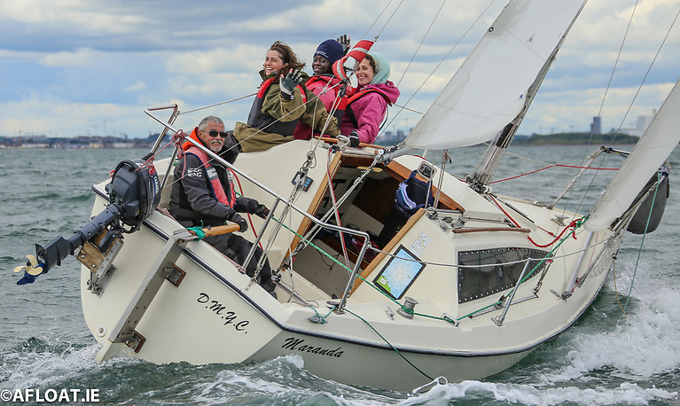 Myles Kelly's Maranda from the DMYC was second in IRC 3 of DBSC's Thursday race