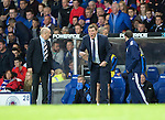 Rangers v St Johnstone...22.09.15  Scottish League Cup Round 3, Ibrox Stadium<br /> Tommy Wright shouts instructions<br /> Picture by Graeme Hart.<br /> Copyright Perthshire Picture Agency<br /> Tel: 01738 623350  Mobile: 07990 594431